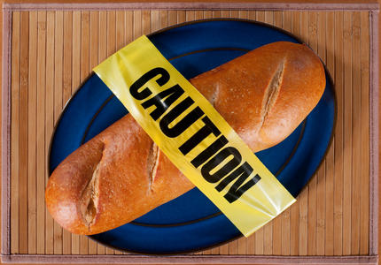 celiac caution