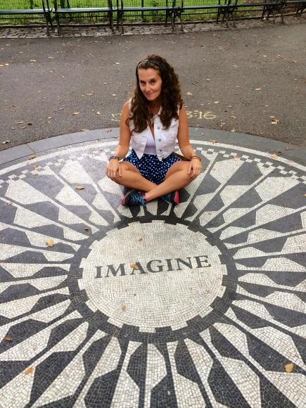 M Media! Central Park, New York.