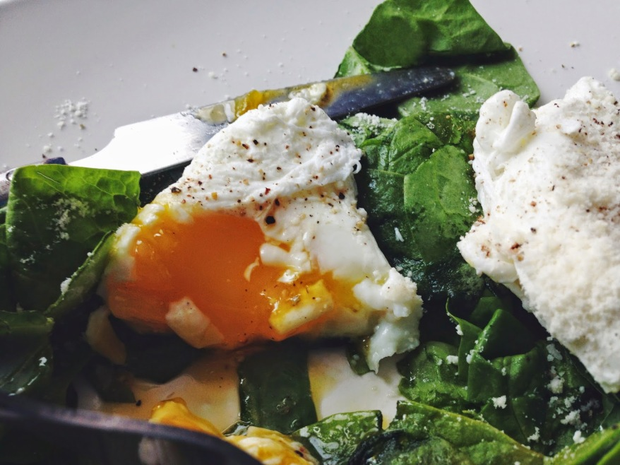 The Foodie Diaries Poached Eggs w Spinach & Avocado (Recipe) 3