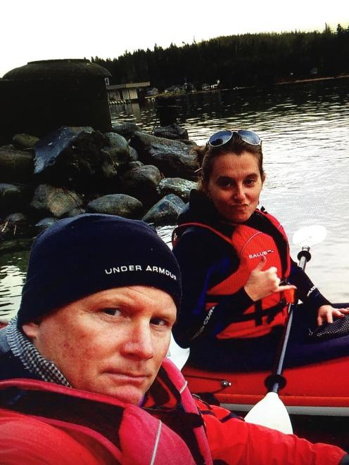 Kayaking.. somewhere