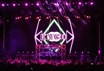 LAS VEGAS, NV - SEPTEMBER 27: DJ Kygo performs onstage during day 3 of the 2015 Life Is Beautiful Festival on September 27, 2015 in Las Vegas, Nevada. (Photo by Jeff Kravitz/FilmMagic)