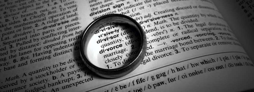 Divorce-Definition-and-Ring-BW-DARK